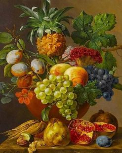 Fruits Basket Painting - DIY Paint By Numbers - Numeral Paint
