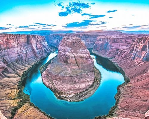 Glen Canyon National Recreation Area USA Paint By numbers