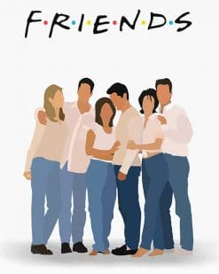 Friends Paint By numbers
