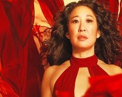Sandra Oh Paint by numbers