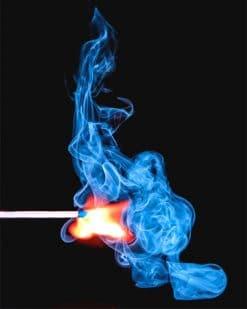 Match Stick Smoke Paint by numbers