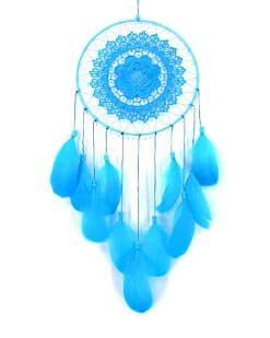 Blue dream catcher adult paint by numbers
