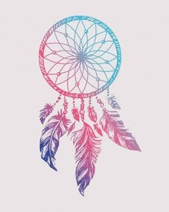 Dream Catcher accessories adult paint by numbers