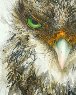 Eagle Bird adult paint by numbers