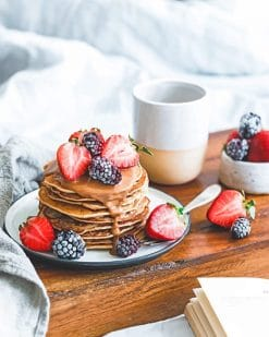 Healthy Homemade Breakfast adult paint by numbers