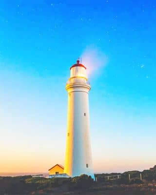 Lighthouse Tower Australia adult paint by numbers