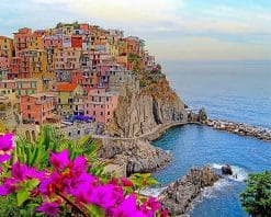 Monterosso al mare Italy adult paint by numbers