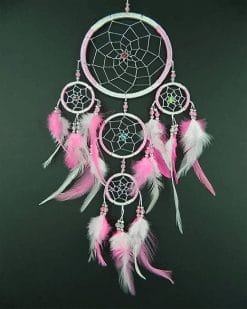 Pink Dream Catcher adult paint by numbers