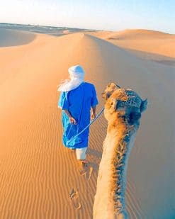 Arabic Desert paint by number
