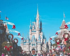 Disney Land Cinderella paint by number