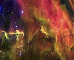 Hubble Space Nebula paint by number