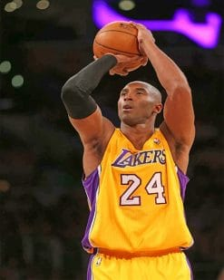 Kobe Bryant Paint by numbers