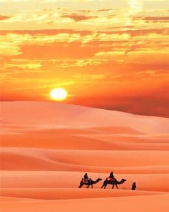 Sahara Desert paint by number