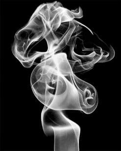 Smoke paint by number