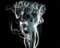 Smoke Black Background paint by number