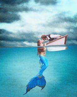 Mermaid Kiss Paint By Numbers