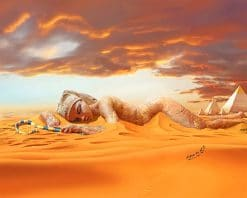 Egypt Desert paint By Numbers