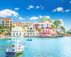 Assos Kefalonia Greece adult paint by numbers