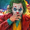 Joker Cigarette adult paint by numbers