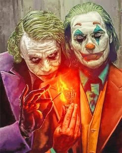 Tw Jokers adult paint b numbers