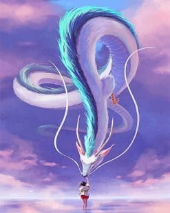 Chihiro And Haku paint by number