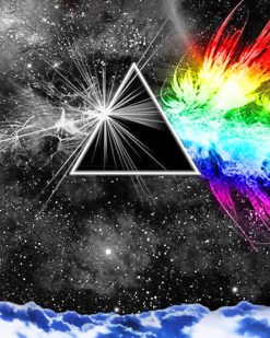 Dark Side Of The Moon paint By numbers
