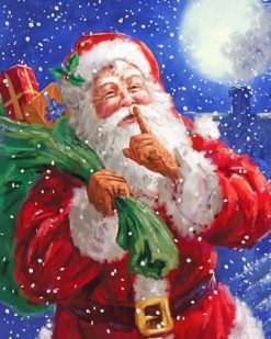 Father Christmas Paint By Numbers