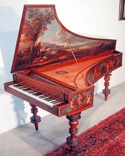 Gorgeous Piano Paint By Numbers