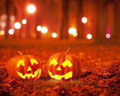 Halloween Thingspaint by numbers