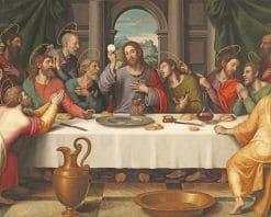 Last Supper Da Vinci Paint By Number