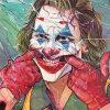 sad joker adult paint by numbers