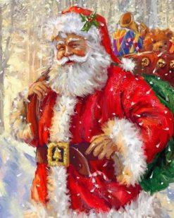 Santa Paint By Numbers