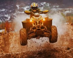 ATV Motocross paint by number