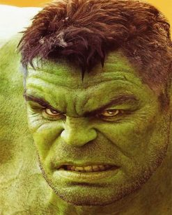 Avengers Hulk paint by numbers