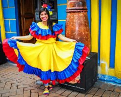 Colombia Traditional Clothing paint by number