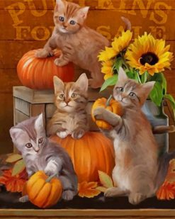 Happy Halloween With kittenspaint by numbers
