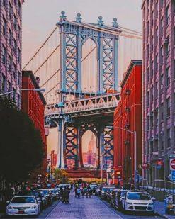 Brooklyn Bridge Park paint by numbers