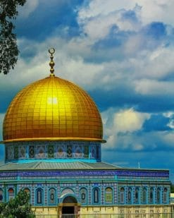Dome Of The Rock paint by numbers