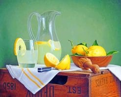 Lemons Still Life paint by numbers
