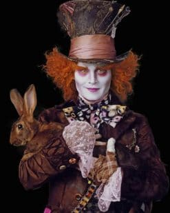 The Mad Hatter paint by numbers