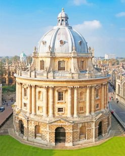 Radcliffe Camera Oxford paint by numbers