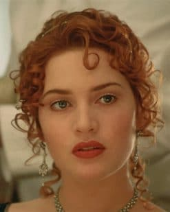 Rose DeWitt Bukater Titanic paint by numbers