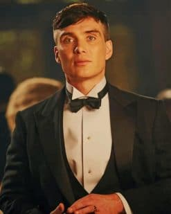 Thomas Shelby painnt by numbers