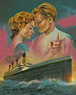 Titanic paint by numbers