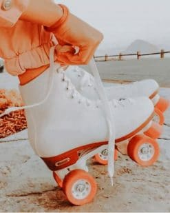 Aesthetic Vintage Roller Skates paint by numbers