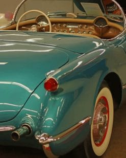 Classic Vintage Car paint by numbers