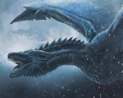 Game Of Thrones Dragon paint by number