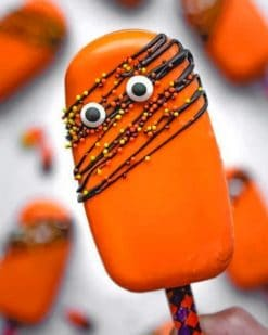 Halloween Cakesicles paint by numbers