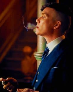 Thomas Shelby Peaky Blinders paint by numbers
