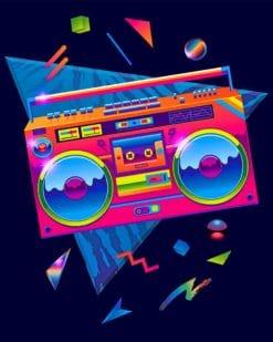 80's Retro Paint by numbres